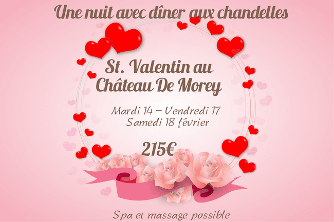 Idée saint valentin Nancy