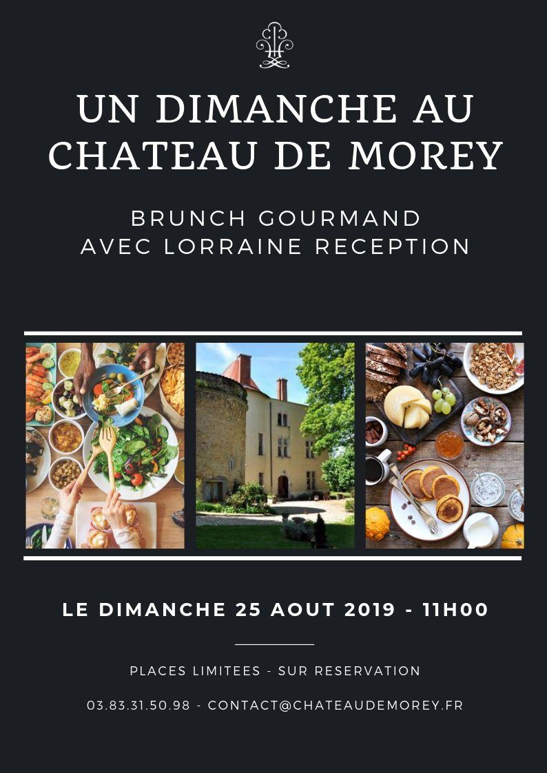 Brunch au château de Morey en Lorraine